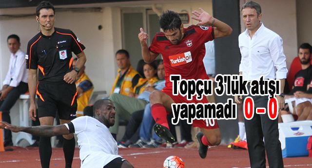 Mutlu Topçu'nun yanlış tercihleri, Gaziantepspor'u galibiyetten etti