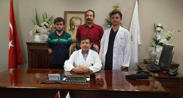 Şifayı Türkiye'de buldu