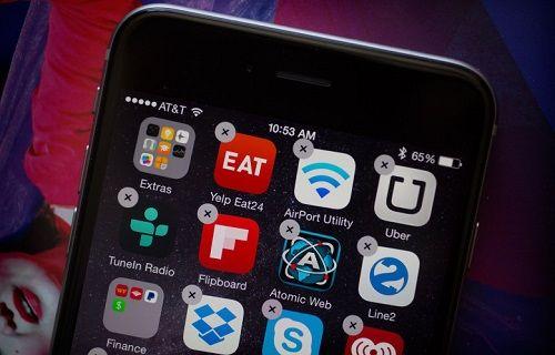 iOS'ta ön yüklü bazı uygulamalar silinebilecek