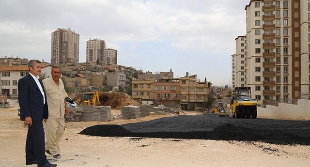 Çamlıca'da asfalt vakti