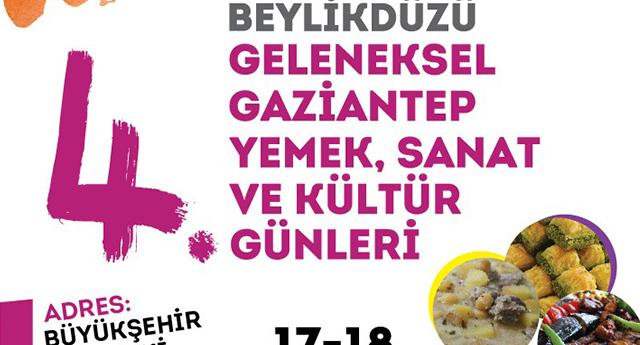 Gaziantep Kültürü Beylikdüzü'nde