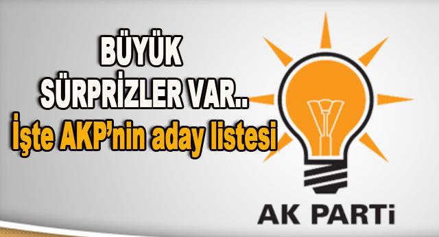 AK Parti'de 12 aday
