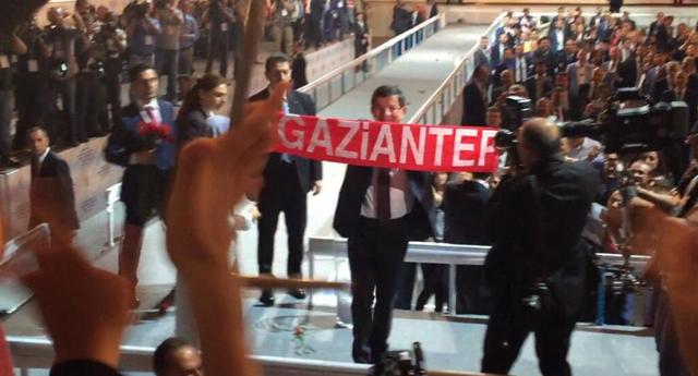 Başbakan Gaziantep'e teşekkür etti