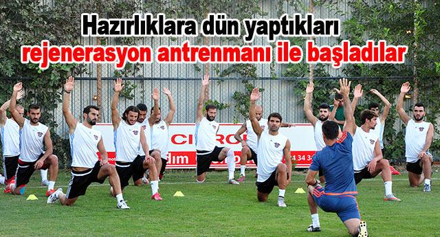 Galatasaray hazırlıkları başladı