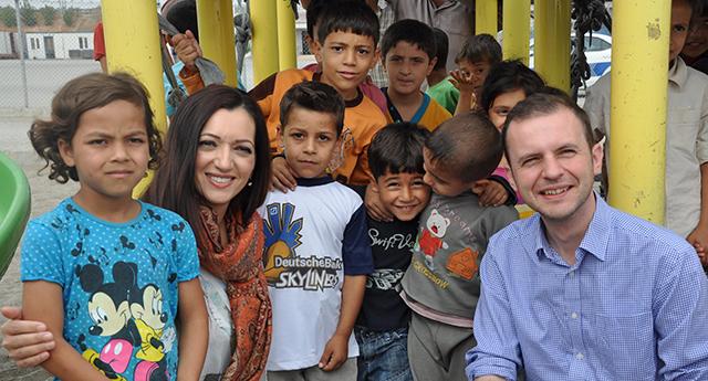 Suriyeli çocuklara özel ilgi