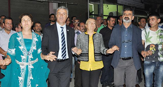 HDP'nin adayları Kocatepe'de