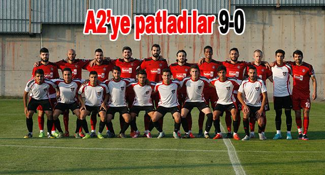 Gaziantepspor, A2 takımıyla hazırlık maçı oynadı