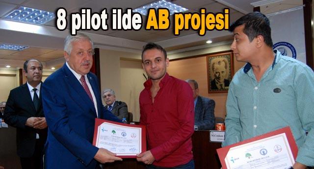 Avrupa Birliği projesinin tanıtımı yapıldı