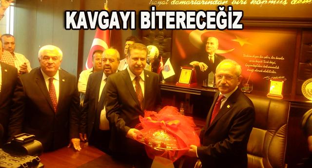 Kılıçdaroğlu esnafla buluştu