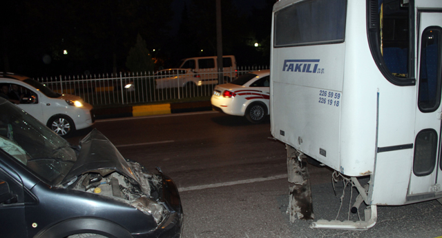 Zincirleme kazada 4 yaralı