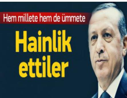 Erdoğan yine sert çıktı