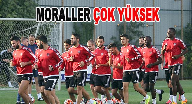 Gaziantepspor son hazırlığını yapıp yola çıktı