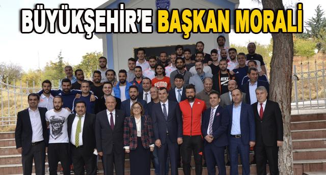 Fatma Şahin, Gaski tesislerinde futbolcuları ziyaret etti