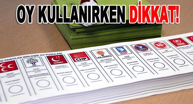 Hangi durumlarda oylar geçersiz sayılıyor?