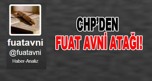 Fuat Avni'nin iddiasına CHP'den açıklama geldi