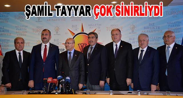Şamil Tayyar'ın davranışları çeşitli yorumlara neden oldu