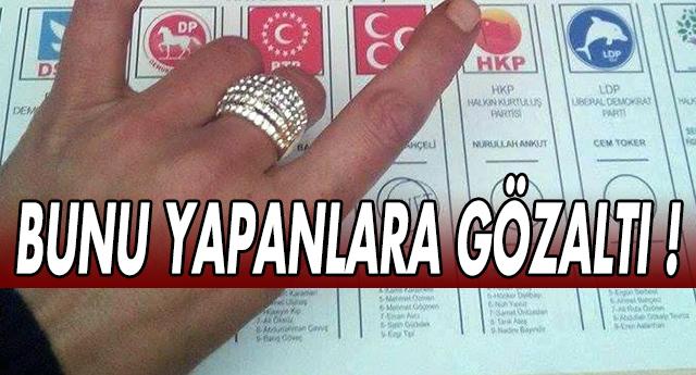 Oy Pusularının Fotoğrafını Çekenler Dikkat !