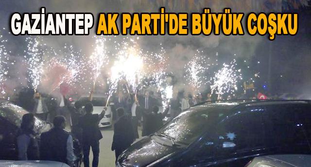 AK Parti'de zafer sevinci yaşanıyor