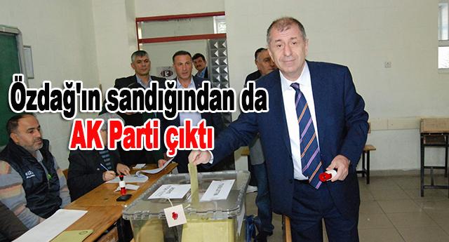 Sandıklardan AK Parti çıktı