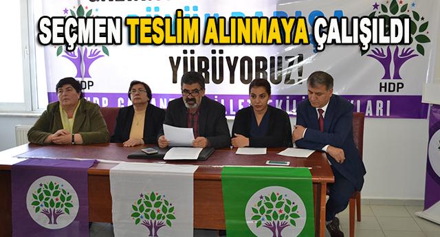 HDP'den gizli ittifak iddiası