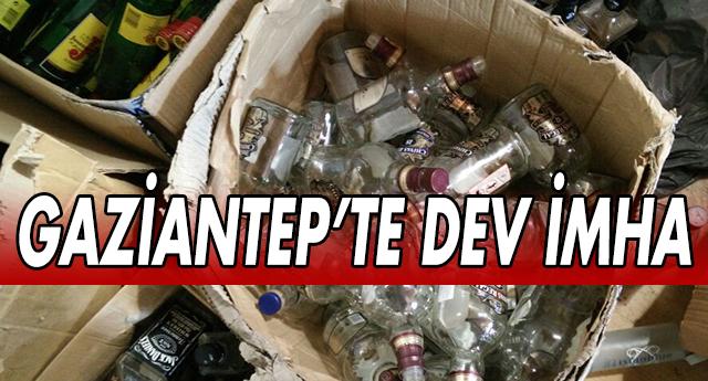 GAZİANTEP'TE SAHTE İÇKİ OPERASYONU