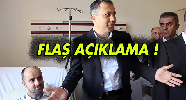 VALİ'DEN CANLI BOMBA AÇIKLAMASI