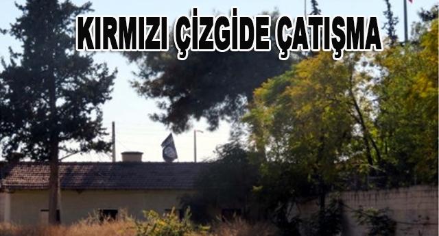 SINIRDA IŞİD BAYRAĞI HALEN DALGALANIYOR