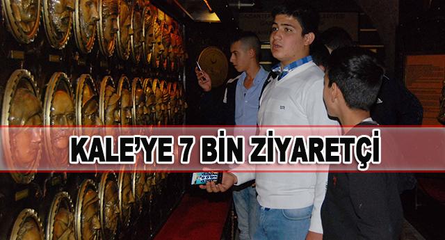 """""""HAFTADA 7 BİN ZİYARETÇİ GELİYOR"""""""