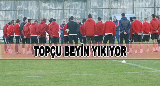 Sivasspor maçının izlerini silmeye çalışıyor
