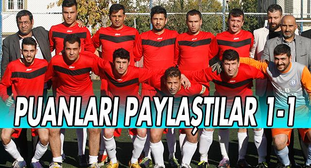 Aydınbaba 1-1 Gazispor