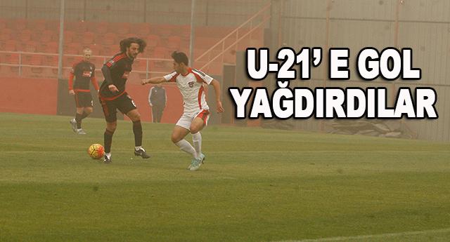 Gaziantepspor, sahadan 7 – 0 galip ayrıldı