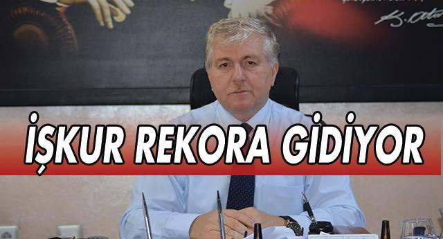 İŞKUR REKORA GİDİYOR