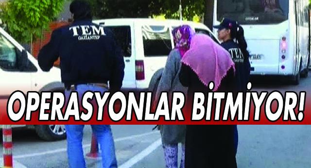 GAZİANTEP'TE İŞİD OPERASYONU