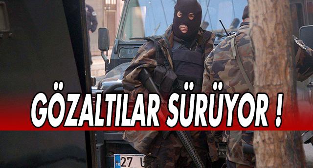 İŞİD'e OPERASYONLAR BİTMİYOR !