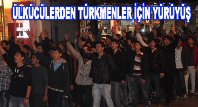 Gaziantep'te yürüyerek protesto ettiler