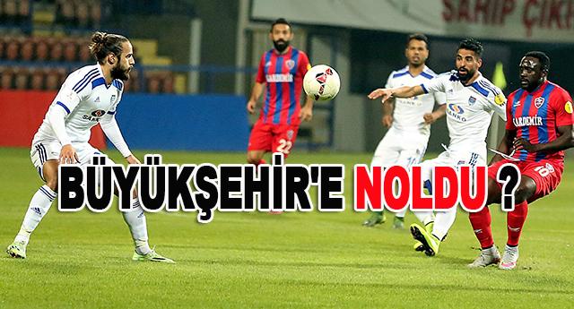 Büyükşehir Belediyespor,Karabükspor'a 1 – 0 mağlup oldu