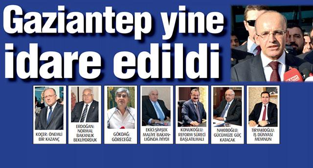 Davutoğlu merakla beklenen yeni kabineyi açıkladı