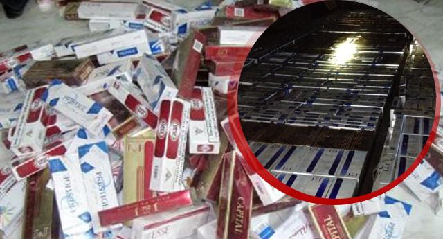 Bir Kaçak Sigara Operasyonu Daha