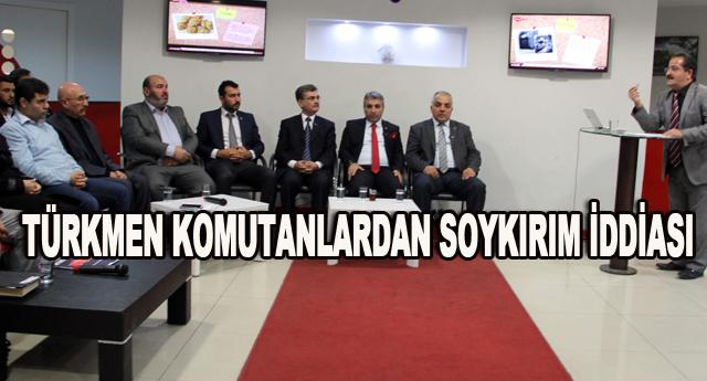 Türkmenlere silah yardımı yapın