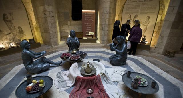 Hamam Müzesi dolup taşıyor