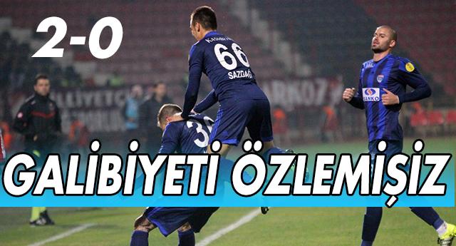 BÜYÜKŞEHİR KENDİNE GELDİ 2-0