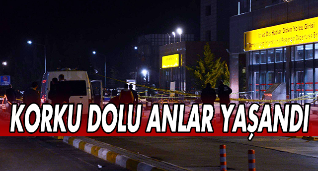 GAZİANTEP HAVALİMANI'NDA BOMBA PANİĞİ