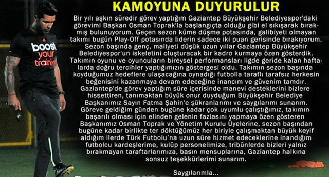 HAKAN KUTLU'DAN İLK AÇIKLAMA GELDİ