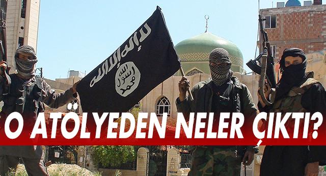 GAZİANTEP'TE BİR IŞİD ATÖLYESİ DAHA !