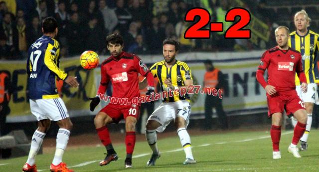 FENERİ'İ ELİMİZDEN KAÇIRDIK 2-2