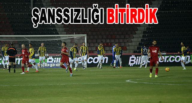 Fenerbahçe'ye karşı olan şanssızlığına son verdi