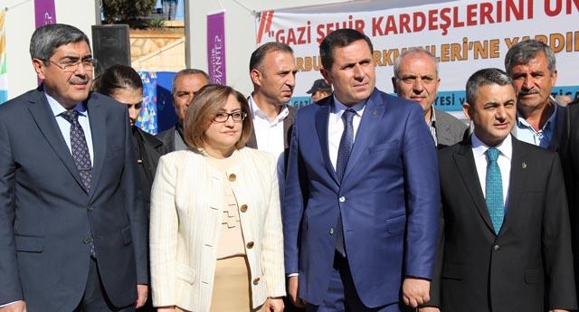 Türkmenlere kucak açtılar