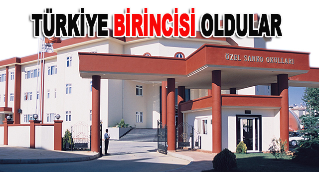Sanko, ygs deneme sınavında Gaziantep'in gururu