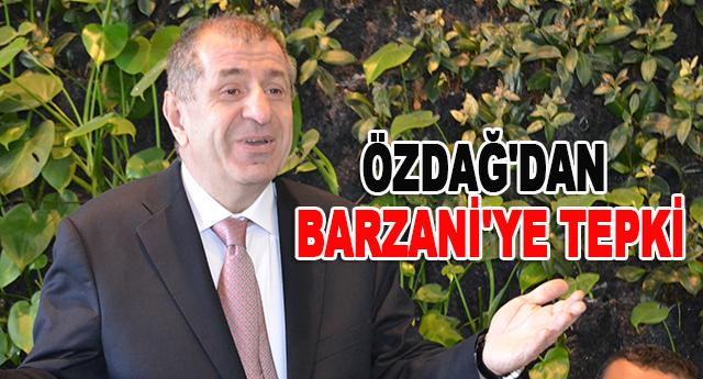 Barzani Türkiye'nin dostu değildir