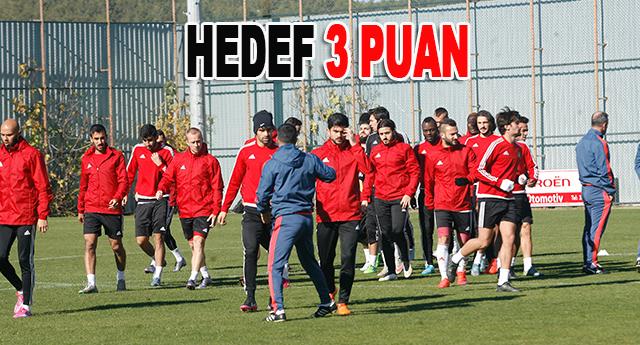 Eskişehirspor maçının hazırlıklarını sürüyor